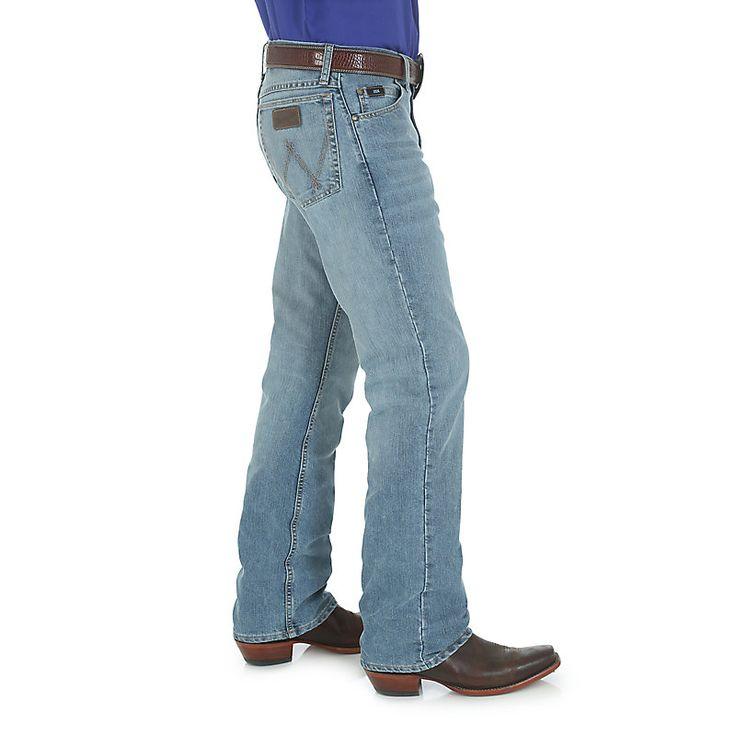 Wrangler Men's 20X Cool Vantage 02 Competition Slim Jeans (Size: 33 x 32) Light Blue