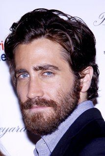 """I'm not one for beards but I have to say even w/ one Jake G.still looks pretty good;kind of like a """"Sexy Rabbi"""";-)(hey I'm Jewish & so is he so let me indulge that fantasy a bit..!)"""