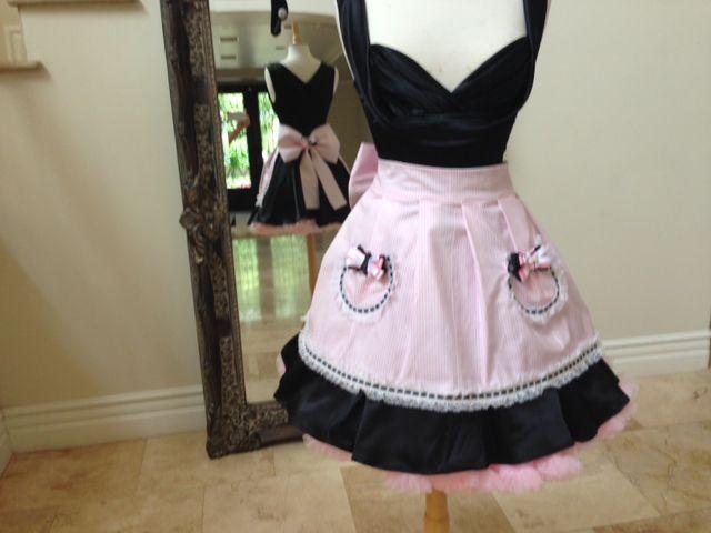 Simple Bridget us Couture Handmade ucsweet ud Hostess aprons debut at Sugar Factory in Las Vegas