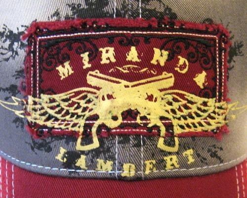 Red Guns & Wings Cap - Store - Miranda Lambert.