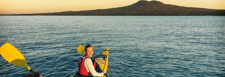 Kayak or ferry to Rangitoto, Auckland's iconic island volcano