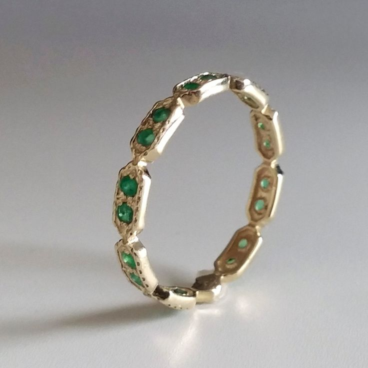 25 best ideas about emerald eternity ring on