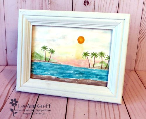 Waterfront Framed Art by LeeAnn Greff at Flowerbug.net