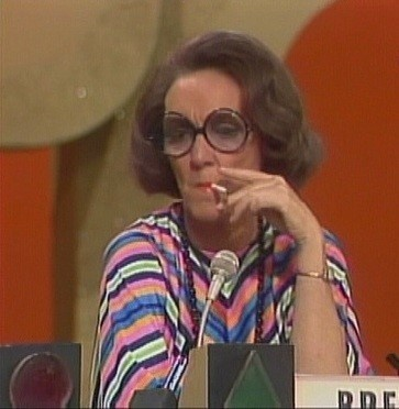 Brett Somers: circle gets the square