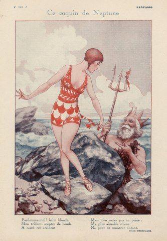 Hérouard - Fantasio - 1930 - Ce coquin de Neptune by asoftblackstar, via Flickr
