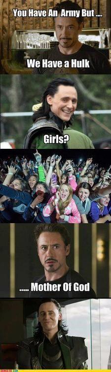 Girls...Hahahahahahahahahahaha.