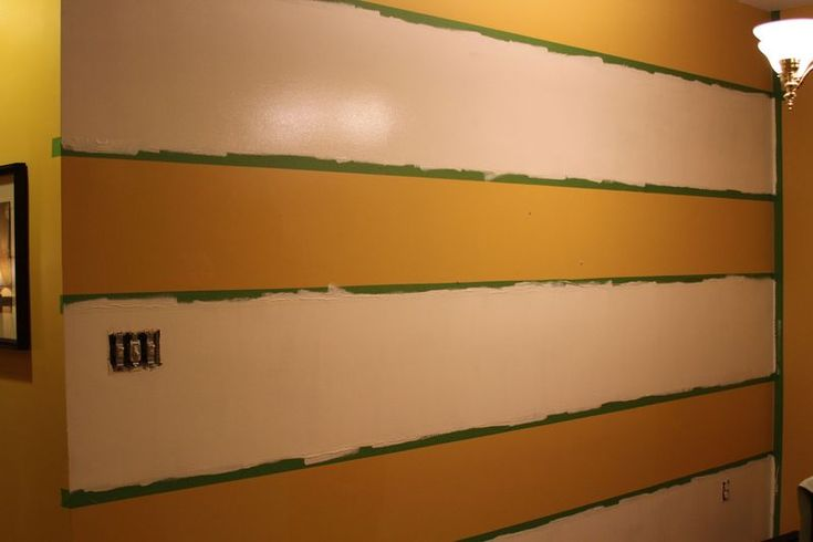 Painting Wall Stripes 2