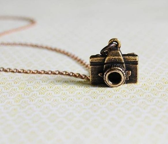 Photographer Necklace - Charms - Trend Uncovet