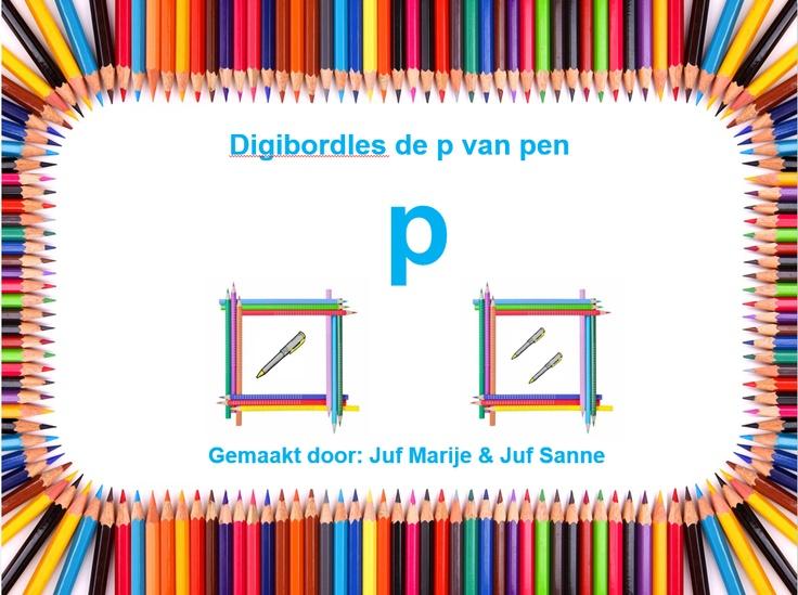 letter p - juf Marij- juf Sanne