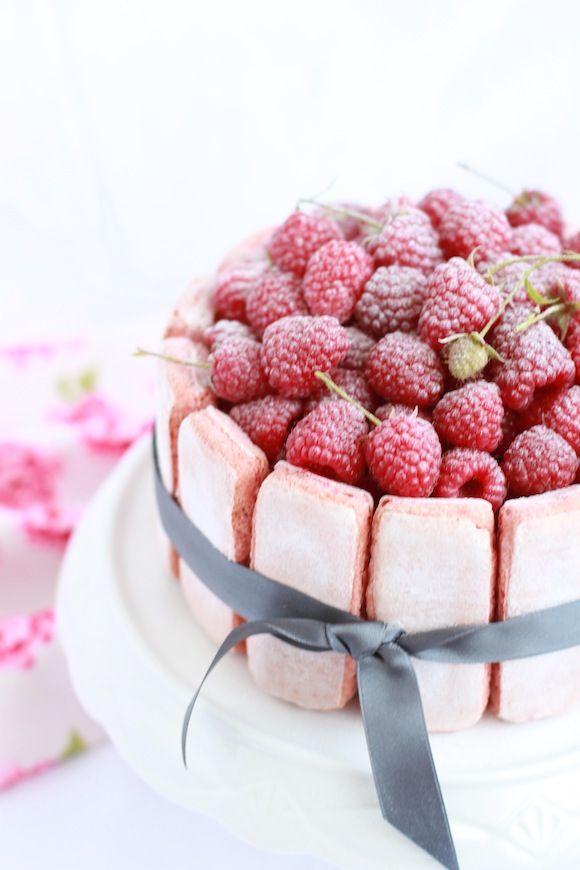 midnight dessert: Na rozlúčku s letom - Malinová Charlotte
