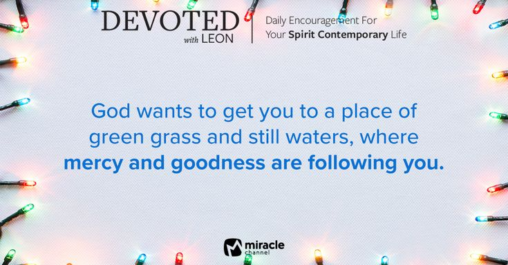 December 30 - God's Promises of Provision Are Greater! #MiracleChannel #Devoted #December