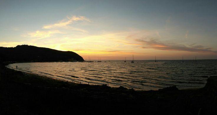 Golfo di Baratti- When the sun goes down