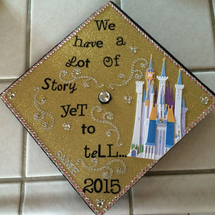 Disney Quotdreams Do Come Truequot Quote Decorate Graduation Cap Also