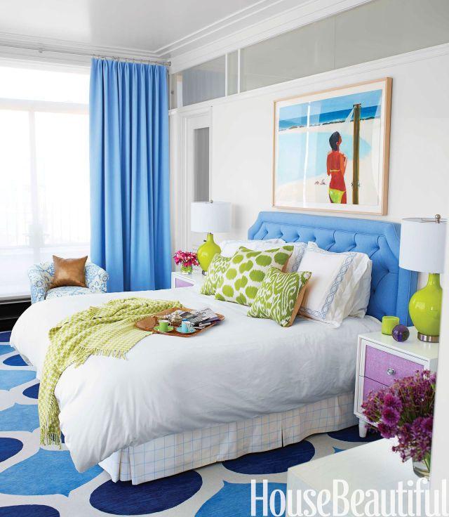 Bedroom Decorating Ideas Blue