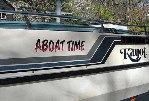 Funny Boat Name Ideas | List of Boat Puns & Rhymes