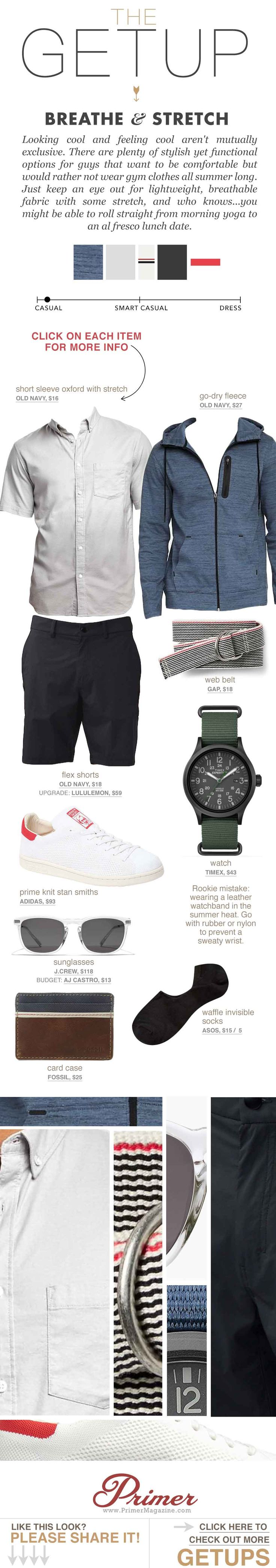 The Getup x Primer. Style for Guys. #menswear