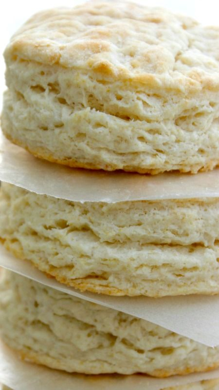 Copycat KFC Biscuits Recipe ~ light, flaky and buttery... And ready in 20 minutes.
