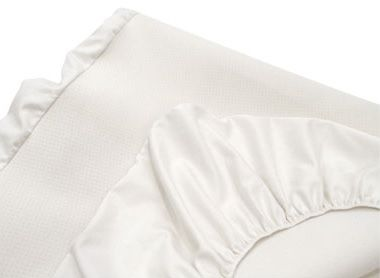 Waterproof Fitted Cotton Mattress Pad.