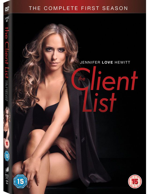 Jennifer Love Hewitt's The Client List is finally coming to DVD in the UK.