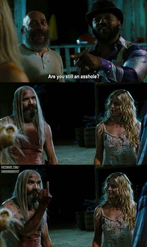 Asshole love.  The Devil's Rejects