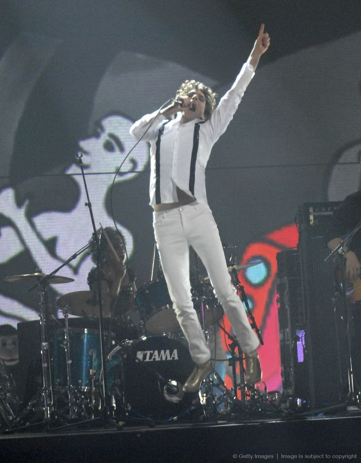 Mika MTV Europe Music Awards 2007 at Olympiahalle - Show Munich, Germany - 01.11.07