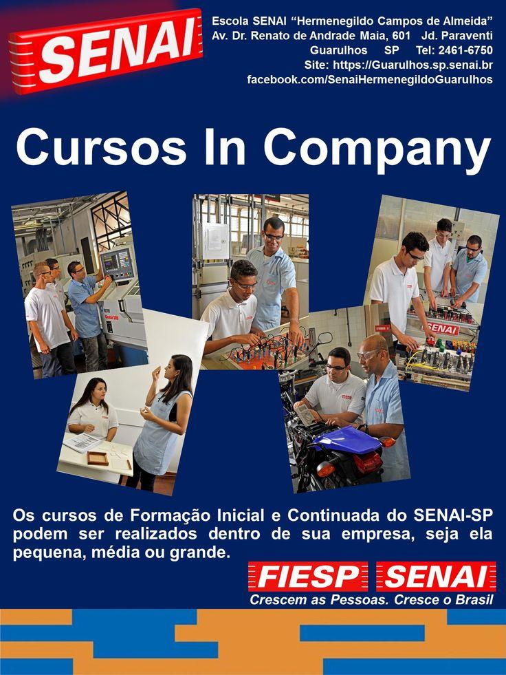 Os cursos de Formação Inicial e Continuada do SENAI-SP podem ser realizados dentro de sua empresa, seja ela pequena, média ou grande. Voltados para diversos segmentos industriais, estes cursos proporcionam iniciação profissional, qualificação, aperfeiçoamento e especialização.