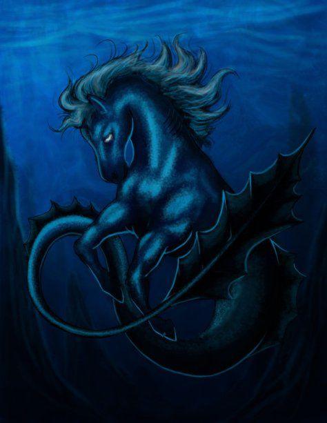 O Hipocampo (Grego: hippos = cavalo, kampi = monstro) é uma criatura mitológica partilhada pela mitologia Fenícia e Grega. Tem sido descrito como cavalo na parte anterior do seu corpo como peixe na parte posterior como a cauda de um peixe escamoso, como um cavalo-marinho. Na mitologia grega, o hipocampo servia de companhia e montaria às nereidas e de animal de tração ao carro de Poseidon. Seres com características semelhantes aparecem na arte de outras culturas, inclusive a Mesopotamia