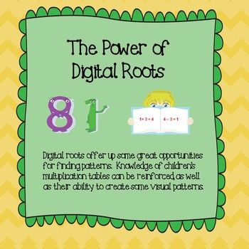 Math Computation:  The Power of Digital Roots