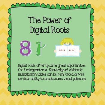 Math Computation:  The Power of Digital Roots