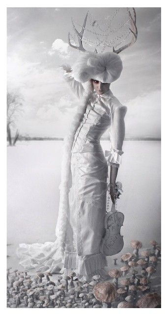 Beautiful Victorian Natural Form Dress by ChristineHallDesigns