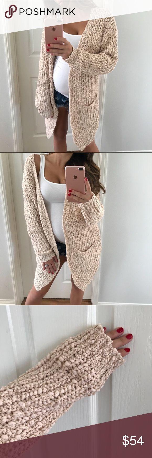 Light blush cardigan nwt in my posh picks sweaters