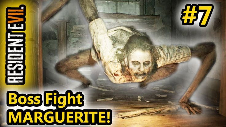 Resident Evil 7 - Boss Fight MARGUERITE e la bambina fantasma! - (Salvo ...