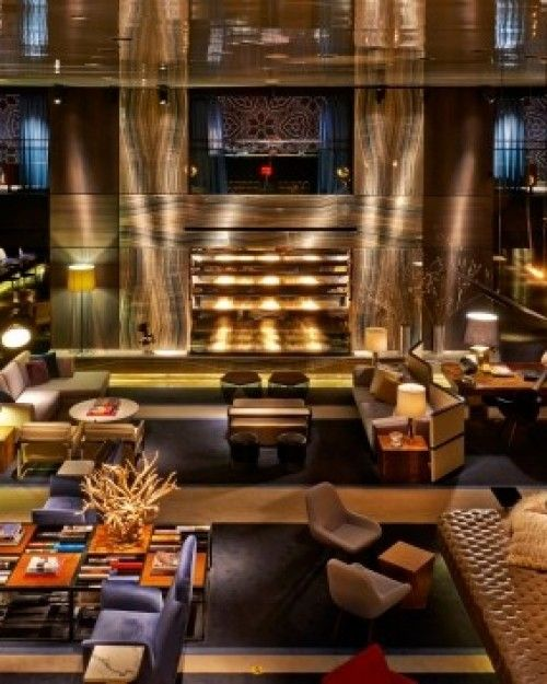 The Paramount Hotel New York. An Ian Schrager Classic.