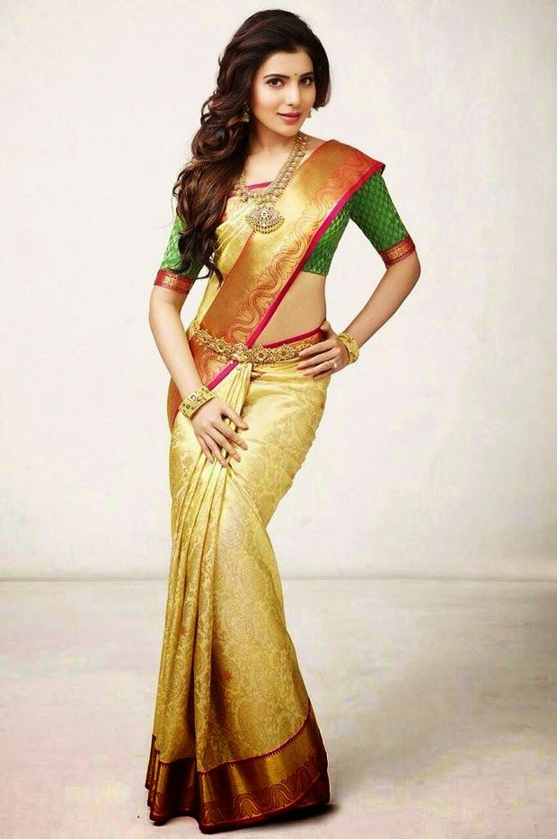 Samantha in Indian Traditional Dress | PIN EXCHANGE ...