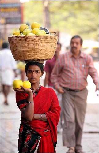 Fruit Seller , India
