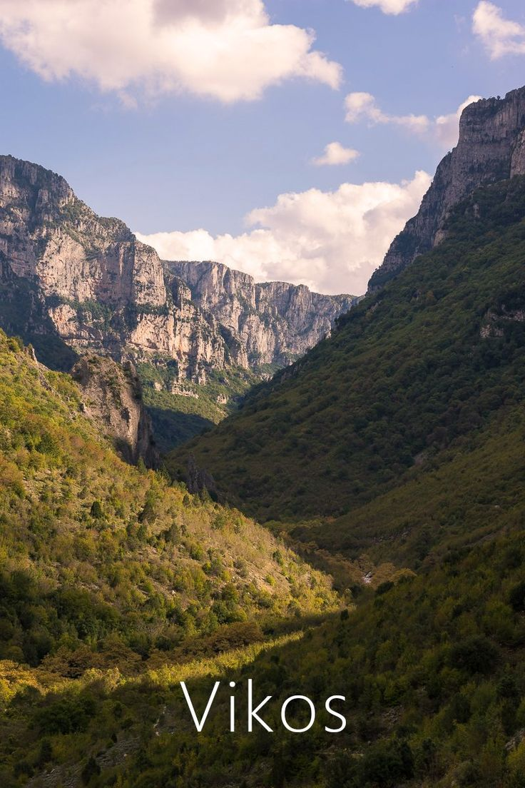 Hiking Vikos Gorge via @Trip & Trail