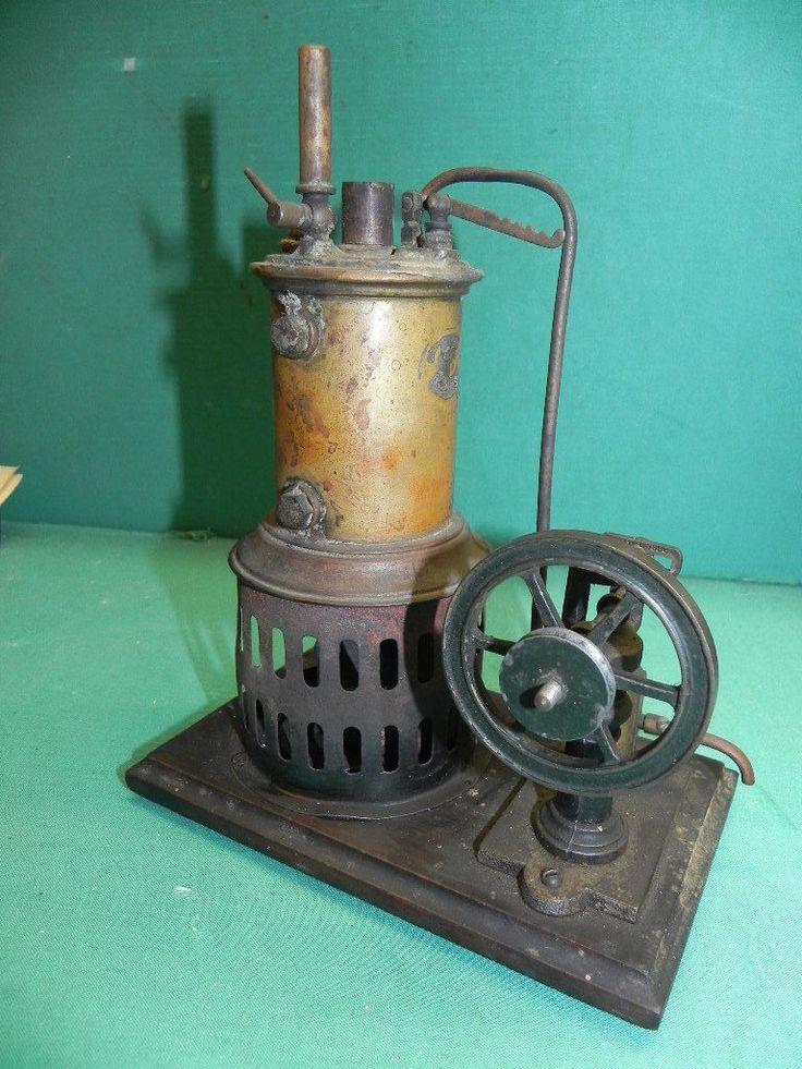 Dampfmaschine, 20er Jahre.