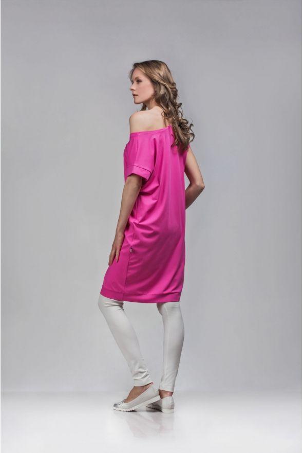 non205-kerek-nyaku-rovid-ujju-laza-ruha NON+ SS15 ♥ Photo by Dalocska #nonplusz #fashion