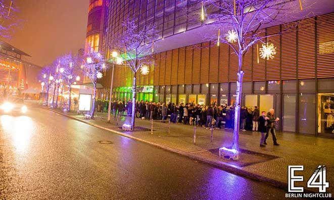 SILVESTER 2015/2016 - E4 Club Berlin Potsdamer Platz