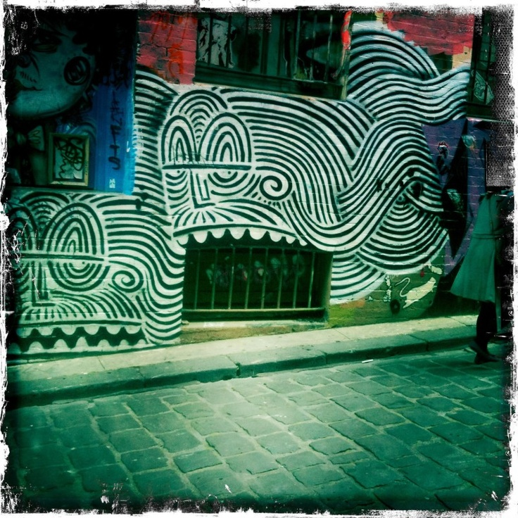 Chasing Freedom and Yarn, Street Art in Melbourne Public