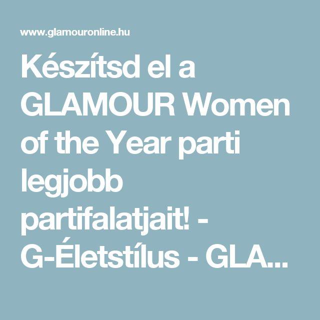 Készítsd el a GLAMOUR Women of the Year parti legjobb partifalatjait! - G-Életstílus -  GLAMOUR Online_