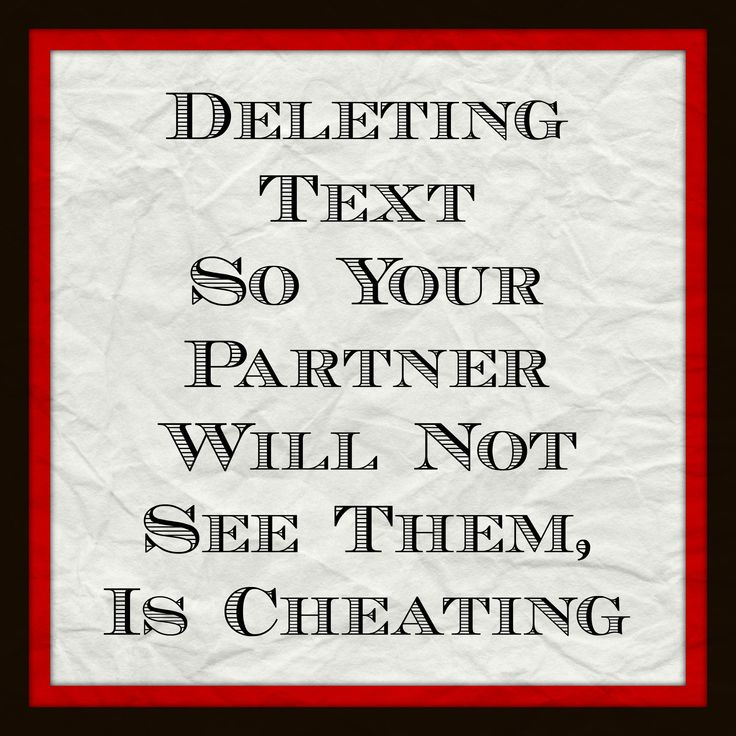 Is your partner or spouse deleting text so you don't see? #cheating #affairs #onlinedeception