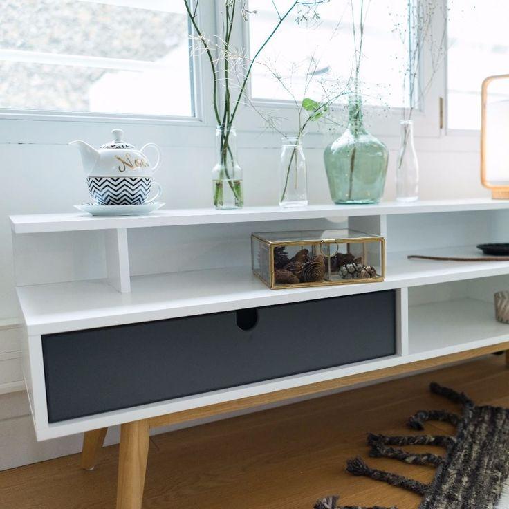 """Meuble TV Nora - Collection Slow Winter Automne/Hiver #SlowWinterConfo #Conforama #Deco #Home"""