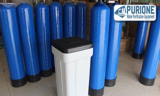 Water Softener 1054 adalah paket pengolahan air sistem water softener untuk kapasitas maksimal 1,5 m3/jam