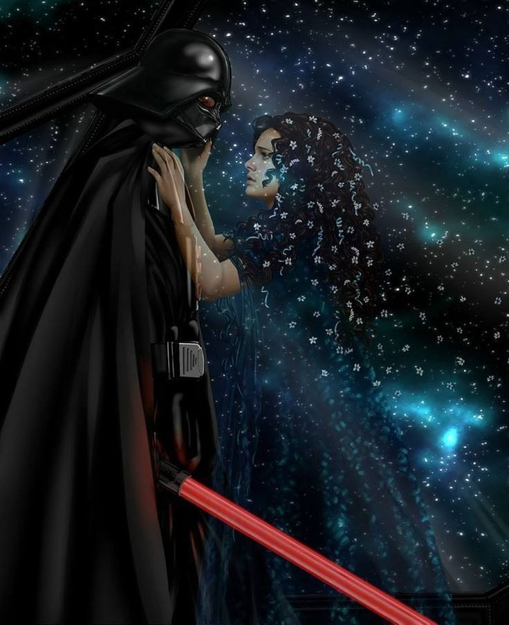 Darth Vader Padme Star Wars Padme Star Wars Canvas Art Star Wars Anakin