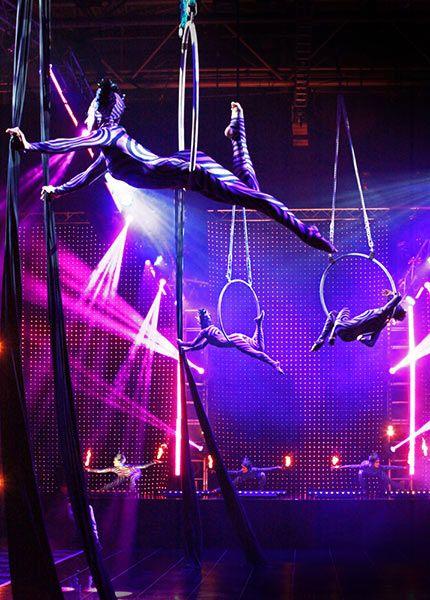Cirque de Lumiere 2013 at the NEC