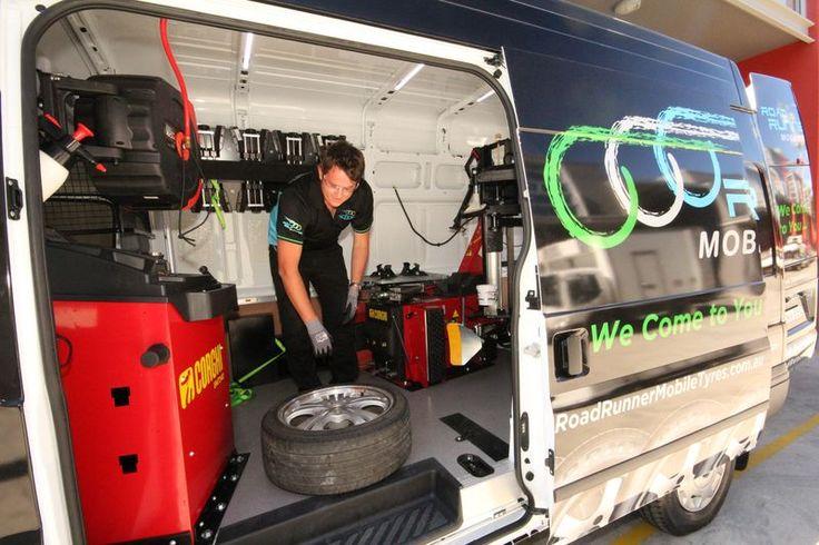 Scott our tyre technician