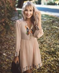 Blush Boho Dress – Cara Loren