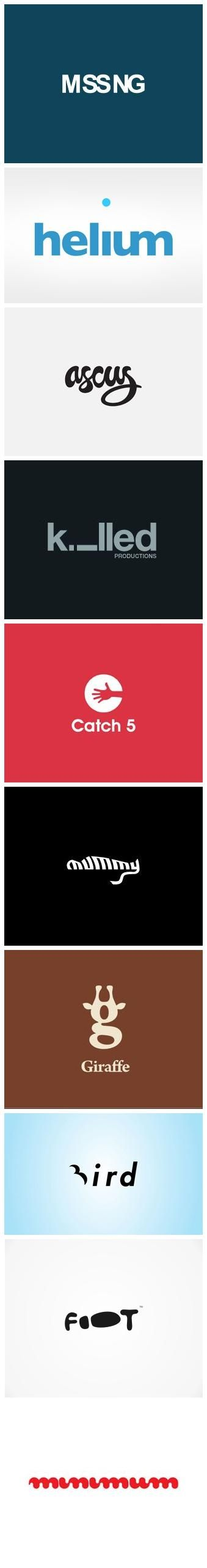 Highly Clever Minimal Logo Designs #logo #design