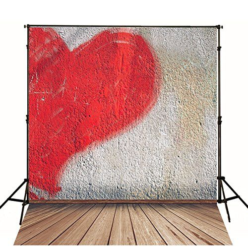 5x7ft fiona valentine photography backdrops gray and red httpswww - Valentines Backdrops